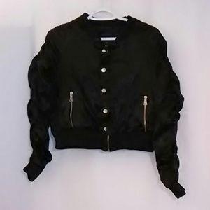 Miss London Jacket Black